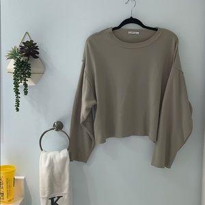 Zara Cropped Sweatshirt